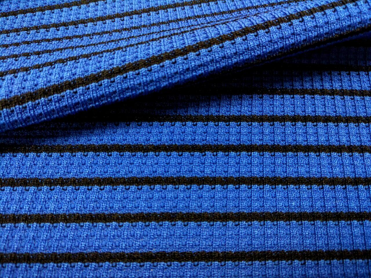 色織橫條紋針織布 (CKLF016)