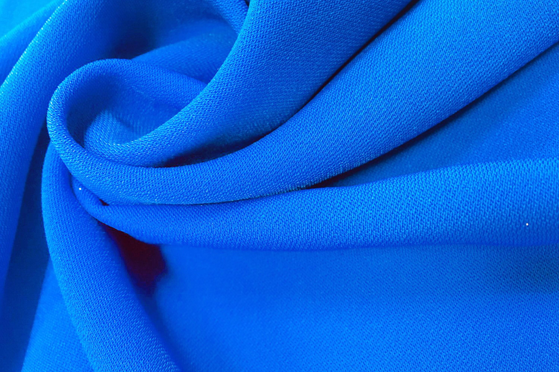 藍色平織素面微彈布(CWPA024)