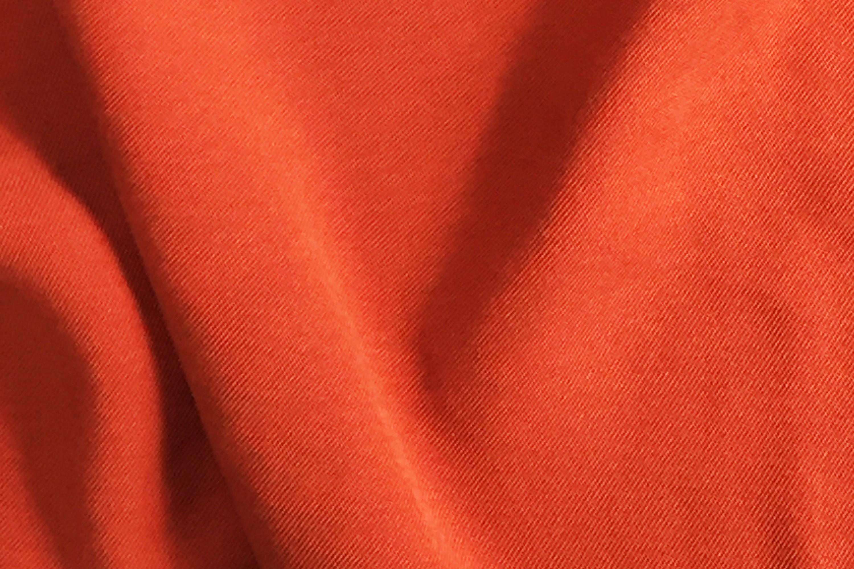 斜紋素色褲裝面料布