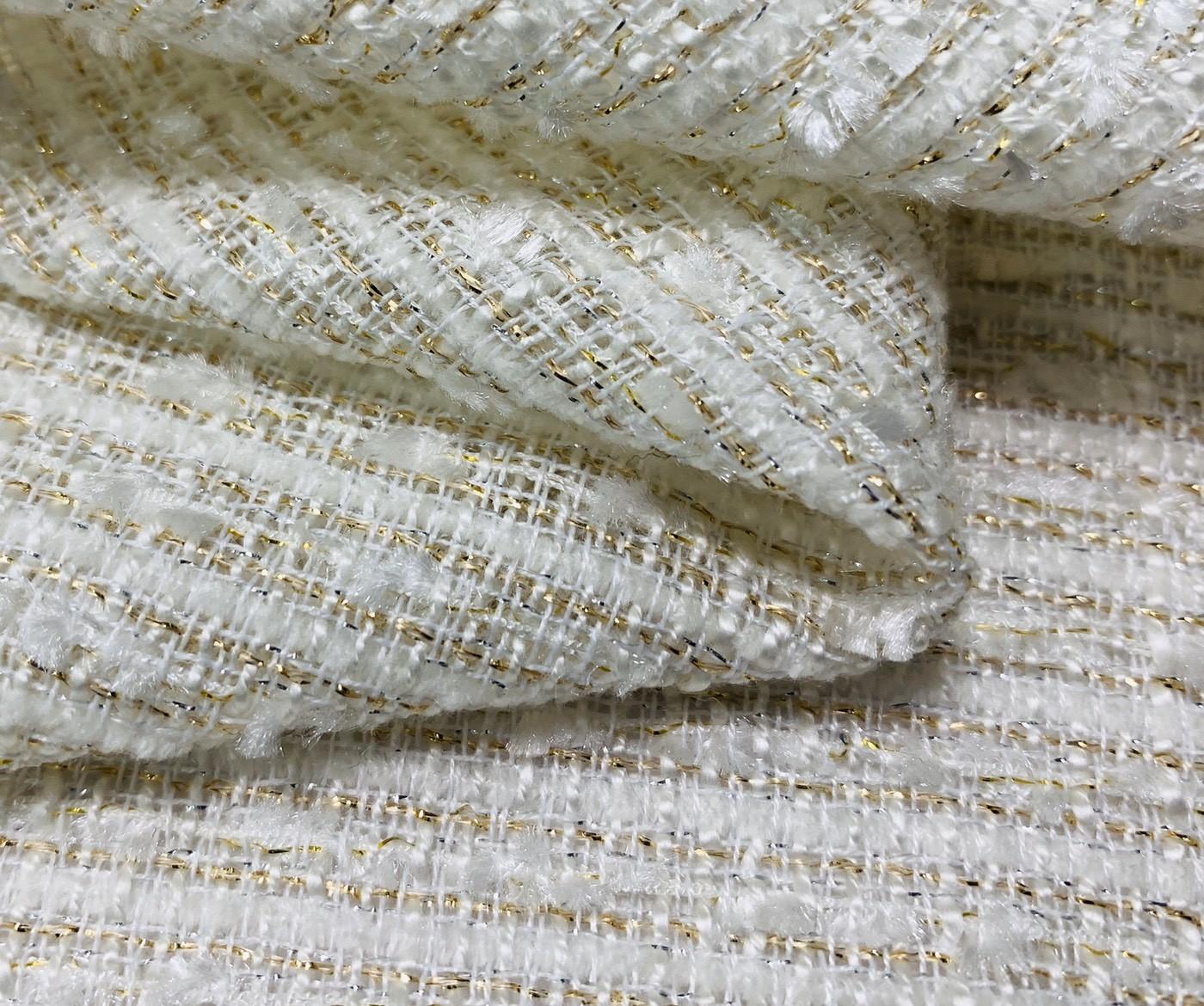 金蔥交織亮片香奈兒布(CSLL040)
