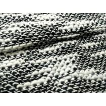 黑白魚鱗組織針織布(CKLP005)