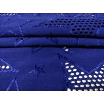 針織鏤空星星布 (KKLH002)