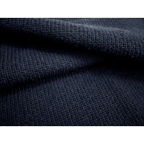 針織深藍素面布(CKLA019)