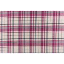 金蔥格子紋色紗布