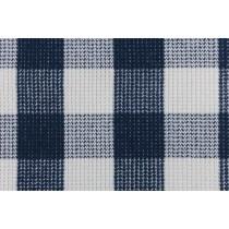 羊毛編織格紋布
