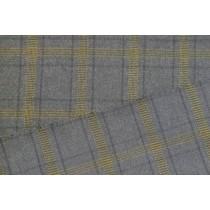 優雅色紗格紋平織布