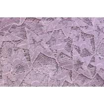五角星蕾絲繡花布