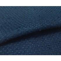 深藍粗細紗交織布(CSLL053)