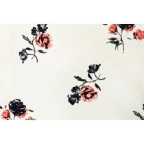 浪漫玫瑰印花布